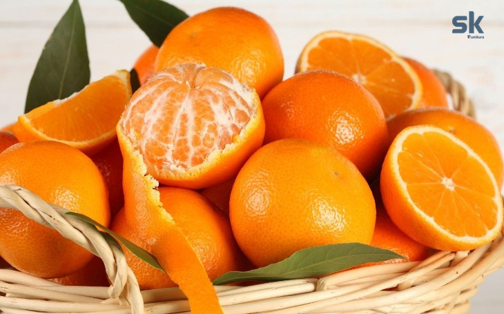 dùng vỏ cam quýt khử mùi
